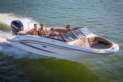 Rental Motorboat Sea Ray Spx 21' Miami