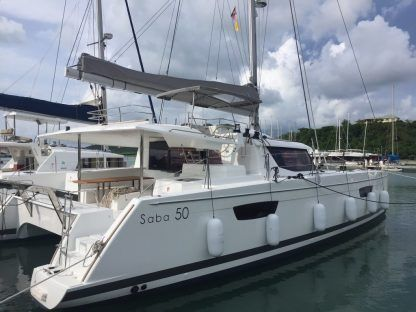 Location Catamaran Fountaine Pajot Saba 50 Îles Vierges britannique