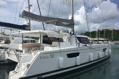 Rental Catamaran FOUNTAINE PAJOT SABA 50 Road Town
