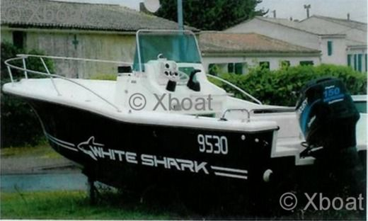 Motorboat Kelt Marine White Shark 205 for rental