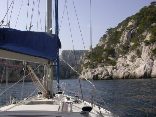 Charter sailboat in Toulon peer-to-peer