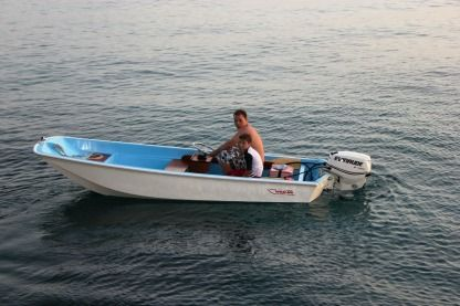 Rental Motorboat Boston Whaler 4,30M Les Anses-d'Arlet