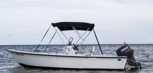 Key West Boats 1720 Center Console in Key West for rental