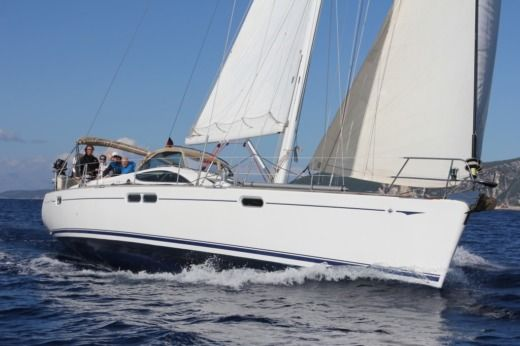 Sailboat Jeanneau Sun Odyssey 54DS for hire