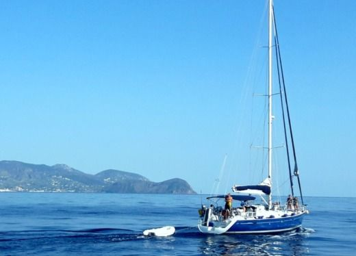 Charter Sailboat Beneteau 50 Aeolian Islands