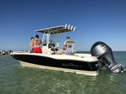 Rental Motorboat Nauticstar 231 Coastal Center Console Sarasota