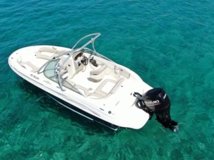Charter Motorboat Sea Ray Sundeck 200 Ios