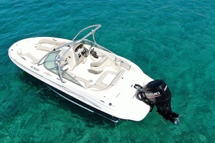 Charter Motorboat SEA RAY Sundeck 200 Chora, Ios