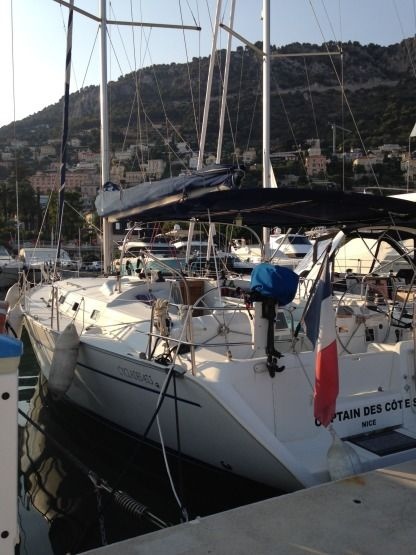 Rental Sailboat Beneteau Cyclades 43.3 Cannes