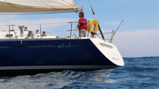 Sailboat BENETEAU First 47.7 for hire