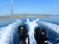 L. Ammos 450 in Paros for hire