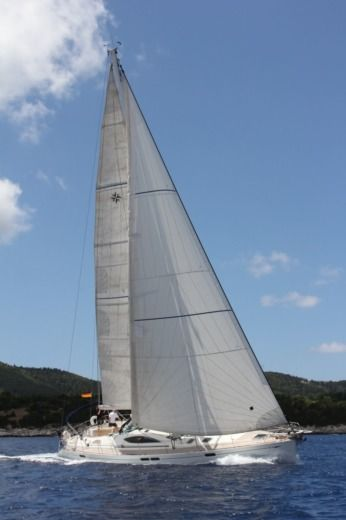 Jeanneau Sun Odyssey 54DS in Preveza for hire