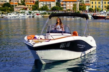 Hire Motorboat OKIBOATS 545 Rab