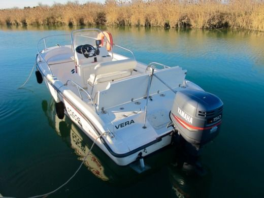 Lancha Boston Whaler 180 Dauntless en alquiler