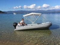 Motorboat Fun Yak 390 20Cv for hire
