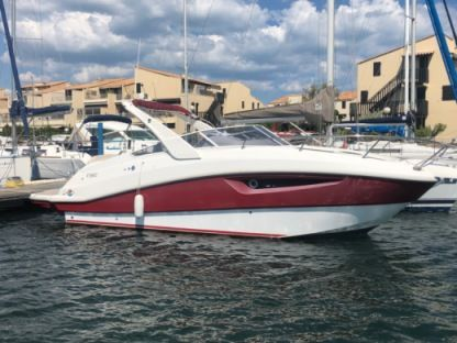 Rental Motorboat Rio 750 Day Cruiser Gruissan