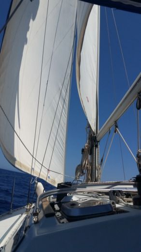 Charter sailboat in Majorca peer-to-peer