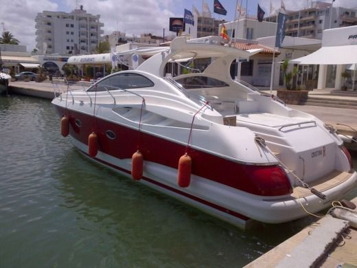 Astondoa 40 in Ibiza for hire