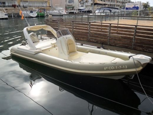 RIB Altamarea Wave 24 for hire