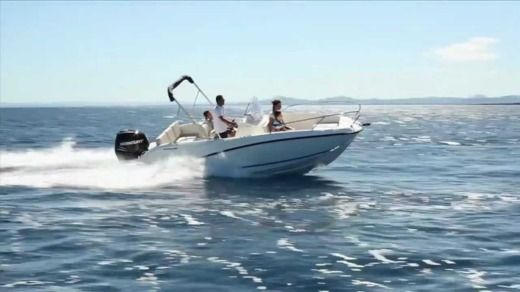 Motorboat Quicksilver Open 605 for hire
