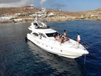 Azimut Plus 68 in Mykonos