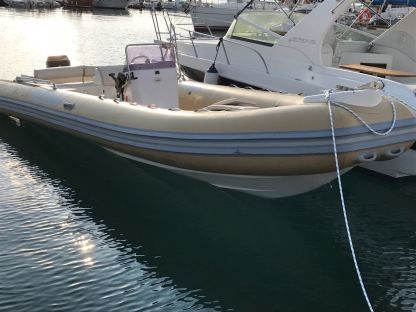 Charter RIB Workboat 750 Gallipoli