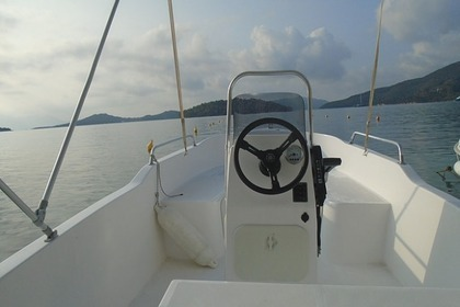 Rental Motorboat IONION 7 Lefkada