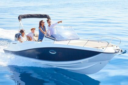 Hire Motorboat Quicksilver Activ 675 Sundeck Tribunj