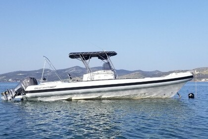 Hire RIB Great White Faethon 900 Paros