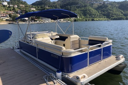 Rental Motorboat Pontoon Sweetwater 2486 C Penafiel