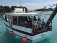 Traditional M/b Oaza 12 in Trogir for hire