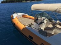 RIB Robinzon 23 for hire
