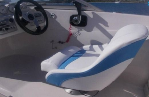 Motorboat Starcraft 195 Vectra Light Blue for hire