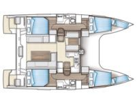 Location Catamaran Nautitech Open 40 Rhodes