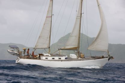Charter Sailboat Ketch Beaufort Guna Yala Comarca