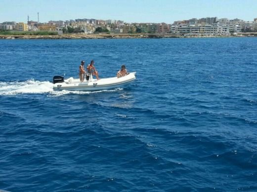RIB MASTER GOMMONE 5 Mt for hire