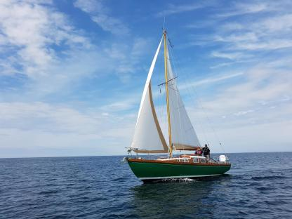 Charter Sailboat Chantier Richard Chassiron Cf Lanildut