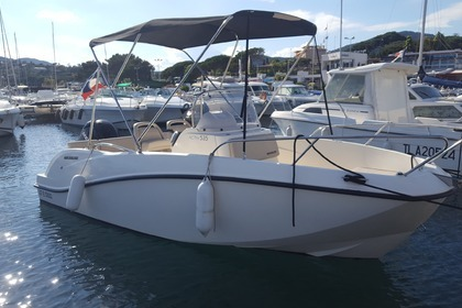 Rental Motorboat QUICKSILVER ACTIV 535 OPEN Sainte-Maxime