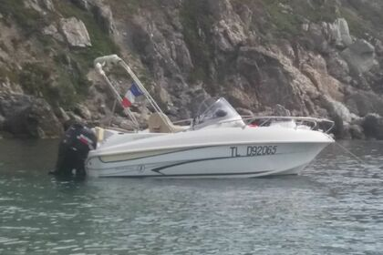 Hire Motorboat BENETEAU Flyer sun deck 5.5m Six-Fours-les-Plages