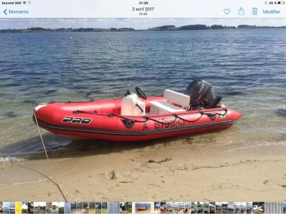 Location Semi-rigide Zodiac Pro 420 Larmor-Baden