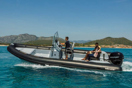 Location Semi-rigide VALIANT 760 Sportfishing La Caletta