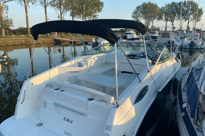 Rental Motorboat Bayliner 255 Sunbridge Ouistreham