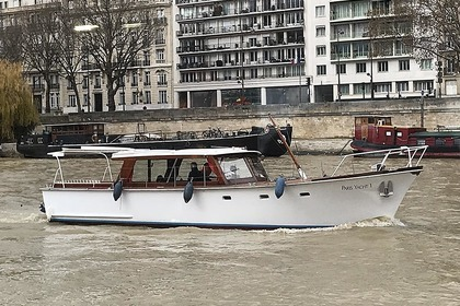 Rental Motorboat Van klaassen Super Van Kraft Paris