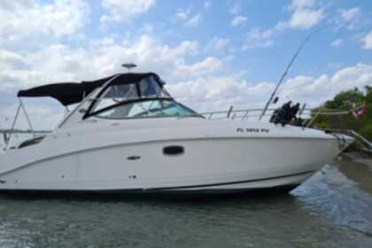 Charter Motorboat Sea Ray Sun Dancer Stuart