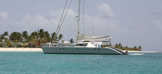 Rental catamaran in Marigot