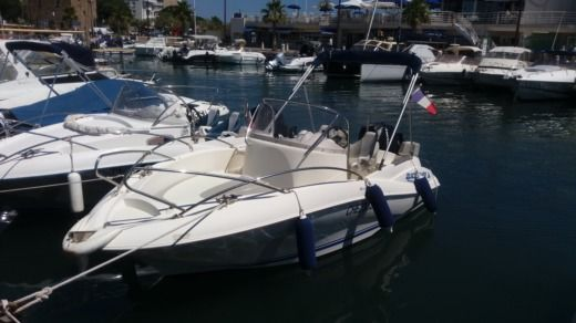 Quicksilver 555 Commander a Sainte-Maxime da noleggiare