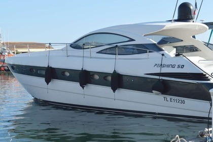 Hire Motorboat PERSHING 50 Bandol