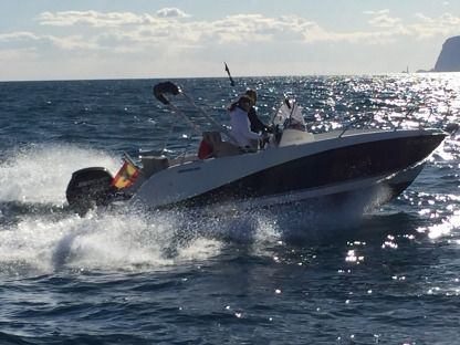Rental Motorboat Quicksilver 605 Open Alicante
