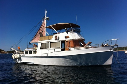 Charter Motorboat American Marine Grand Banks 42 Classic Antibes