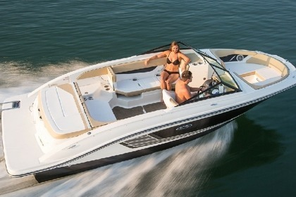 Rental Motorboat SEA RAY 21 SPX Rab
